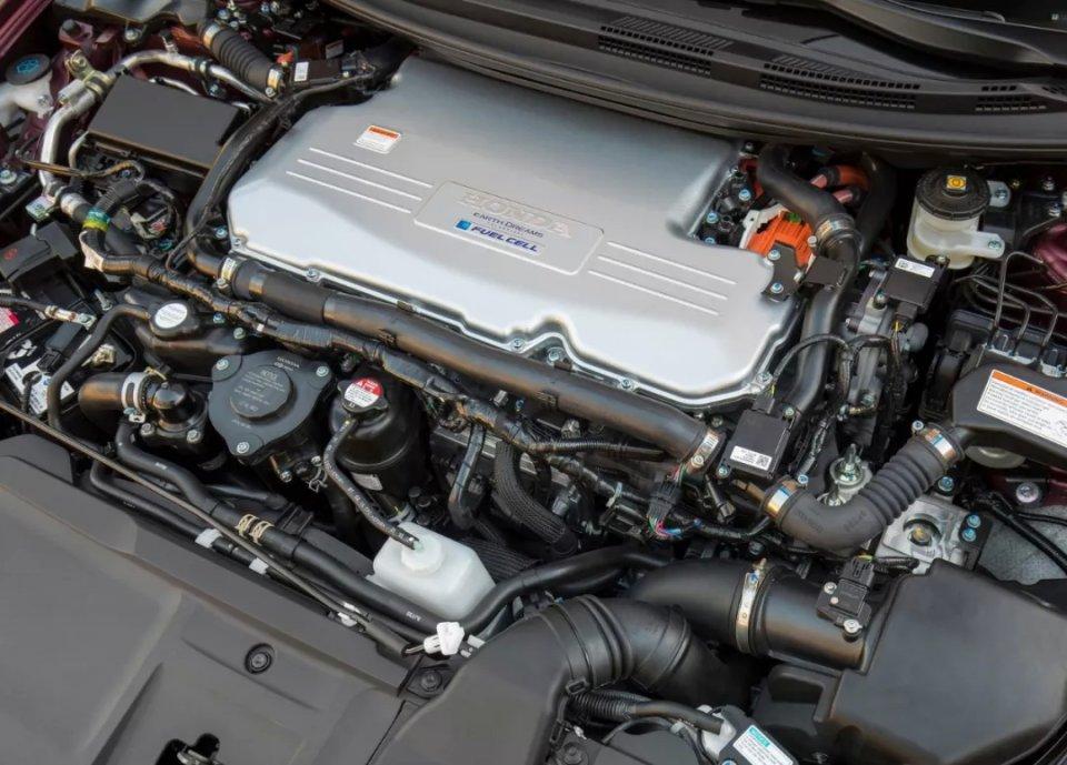 本田氢燃料电池车clarity 上