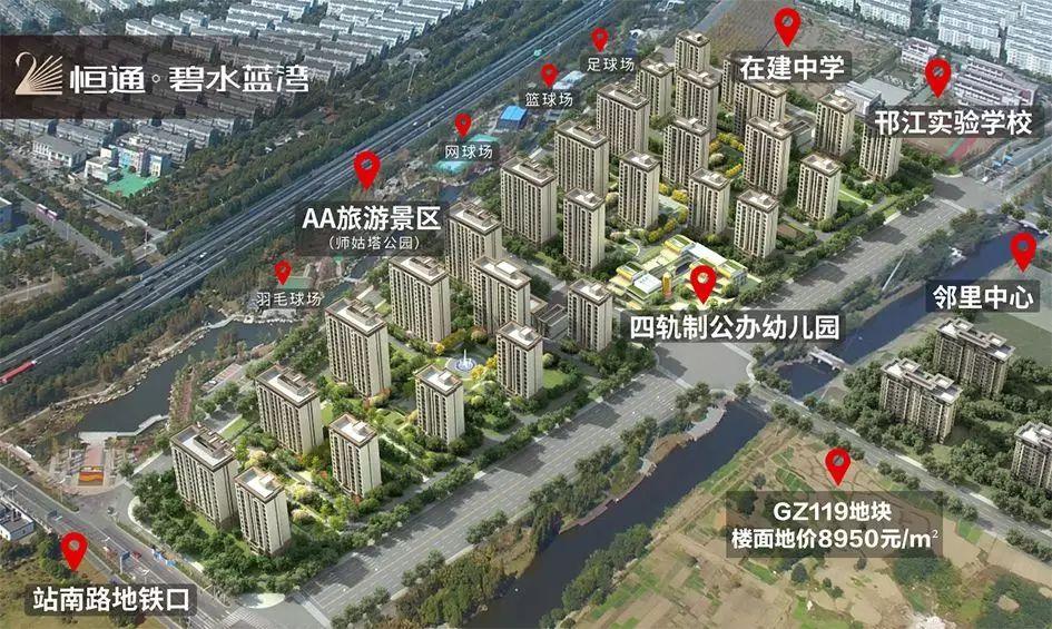 扬州恒大华府规划图