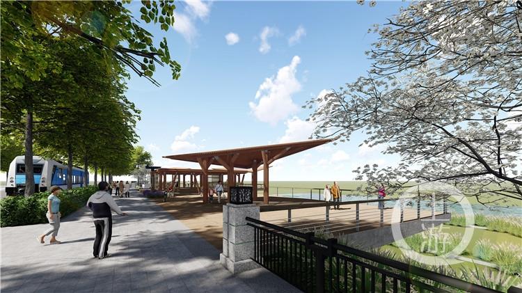 打造江滩河口湿地公园 花溪河口将重现桃花之境