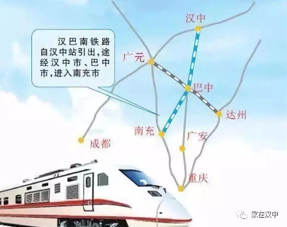 汉巴南铁路中标单位确定,本月进场施工!汉中为何没动静?