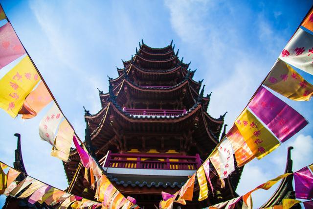 南京最古老的寺庙之一,曾临时代替杭州雷峰塔拍摄电视剧
