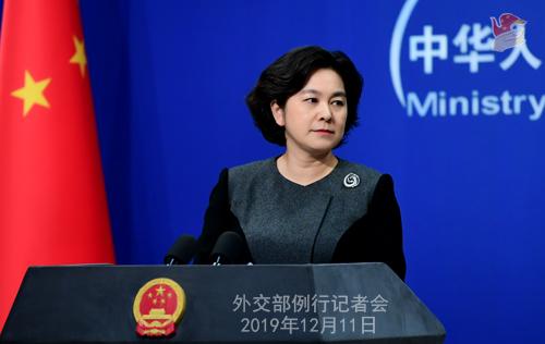 华春莹:负责任的媒体这时应为香港警察的克制和专业加油鼓劲
