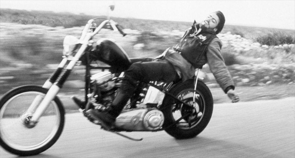 早期Chopper摩托车