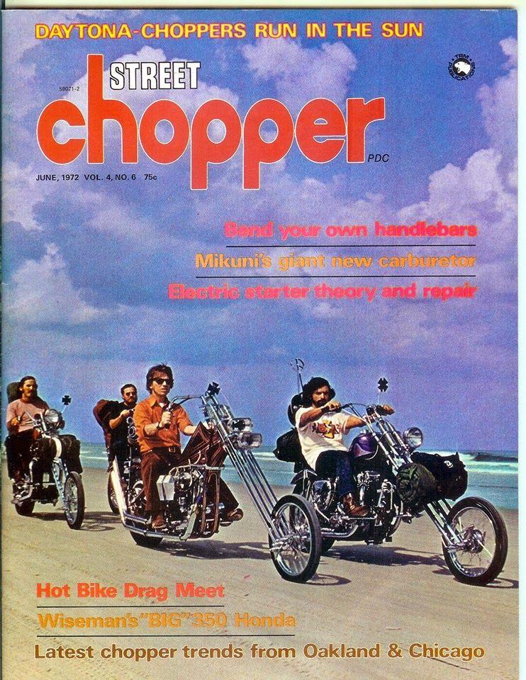 著名的「street chopper」杂志