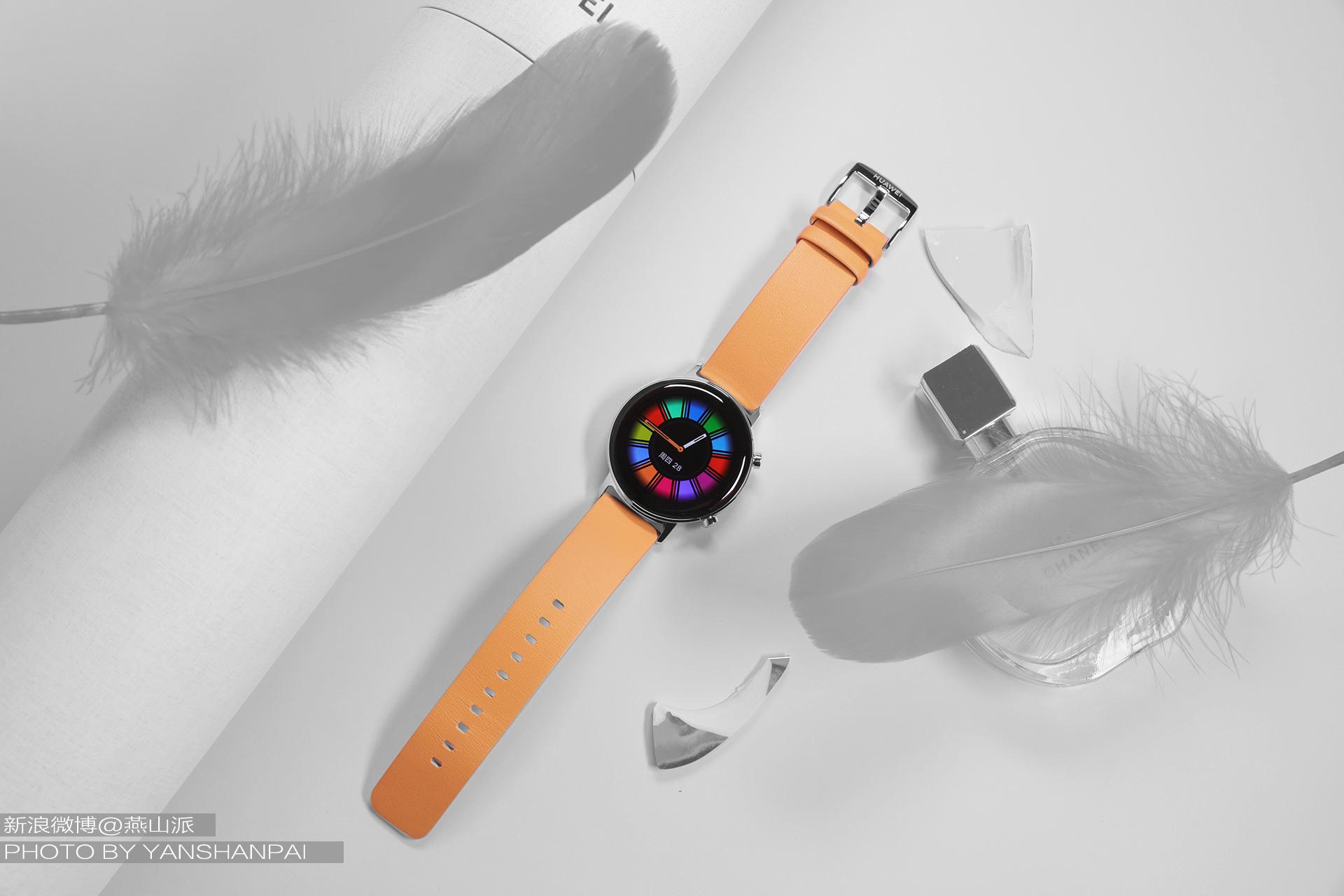 华为WATCH GT2 42mm雅致款评测,时尚之外功能竟还如此强大