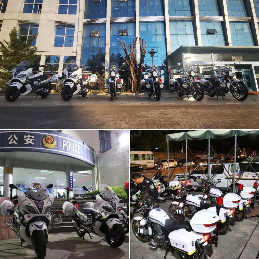 警民携手,共创平安|宗申比亚乔又一批警用摩托车交付