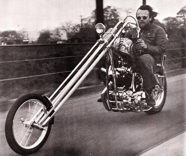 Chopper摩托