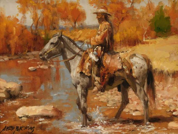 美国当代画家安德鲁托马斯油画作品欣赏