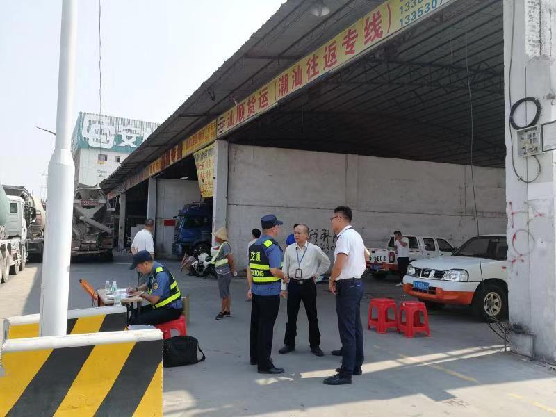 高压治超治限!容桂今年查处超限超载车辆118台
