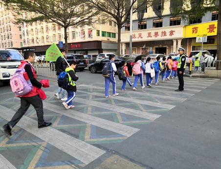 """福海儿童友好""""步行巴士""""再添新成员"""