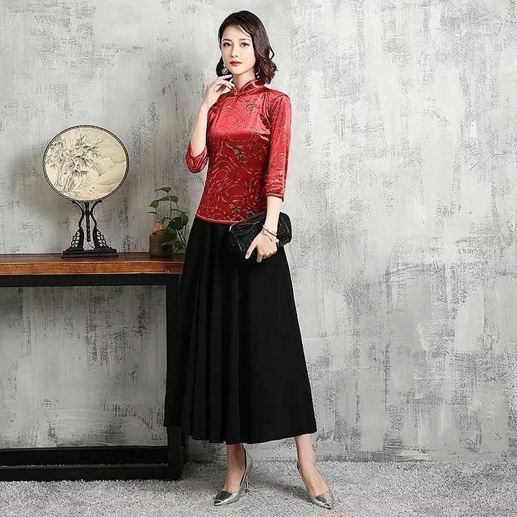 简约旗袍套装,一种优雅迷人,一种民国时尚