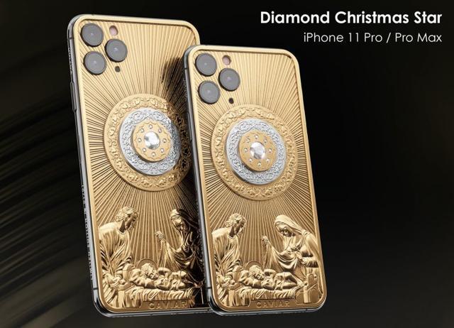 最具逼格手机!iPhone 11 Pro采用黄金+钻石制成,售价90.1万元