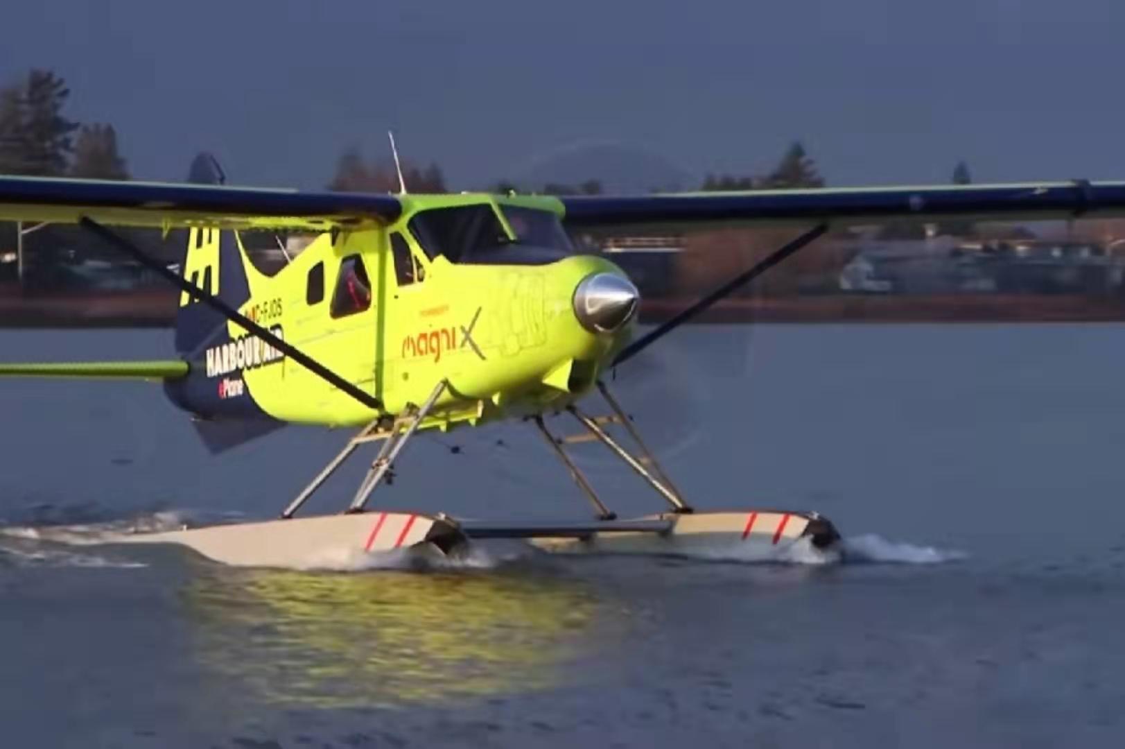 首架电动飞机首飞:电动航空时代来了全球首架商用电动飞机完成首飞