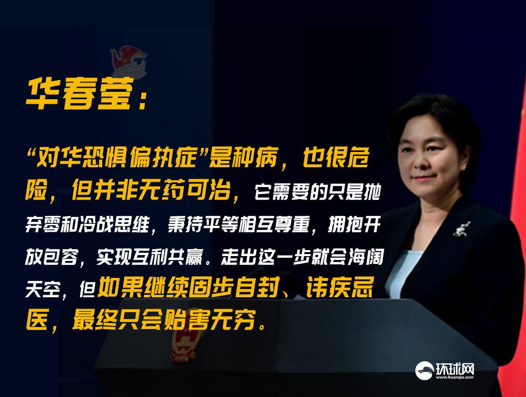 华春莹:熊猫块头很大,但它会比秃鹰更危险吗?