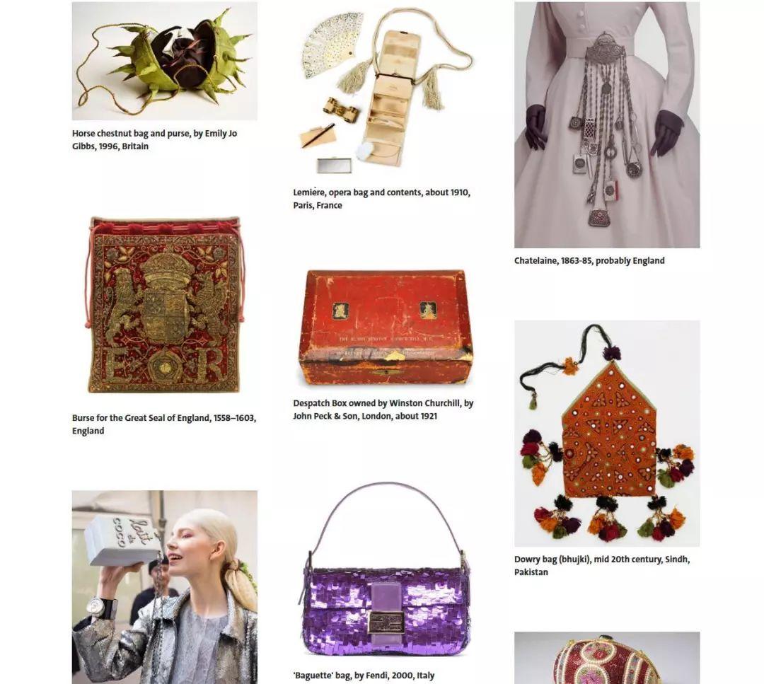 伦敦V&A博物馆将于明年4月举办时尚包袋展:Bags:InsideOut