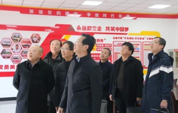 宝鸡市委组织部领导检查指导陕西宝佳建设集团党建工作