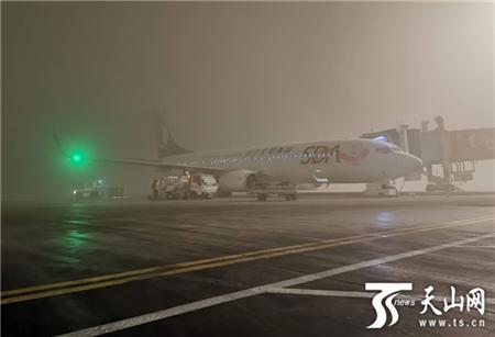 乌鲁木齐国际机场首启空铁联运送旅客出行