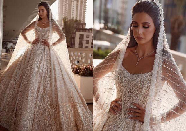 土耳其Dovita贵族高定婚纱礼服,戴上王冠变身女王奢华钉珠