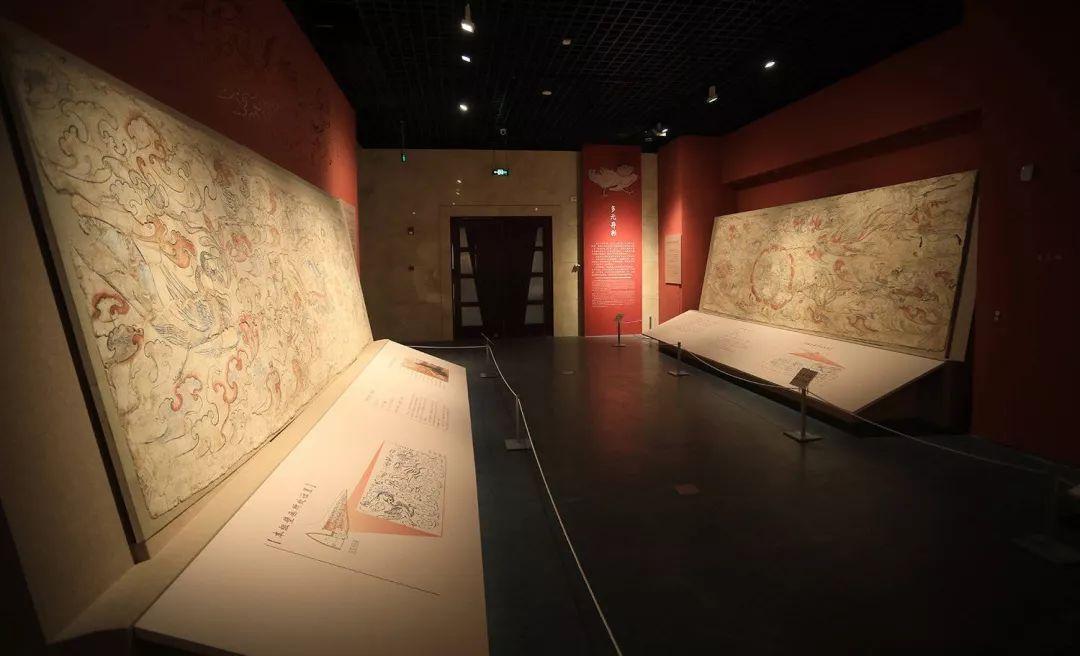 1500年前的北朝墓葬壁画 首次大规模齐聚山西博物院