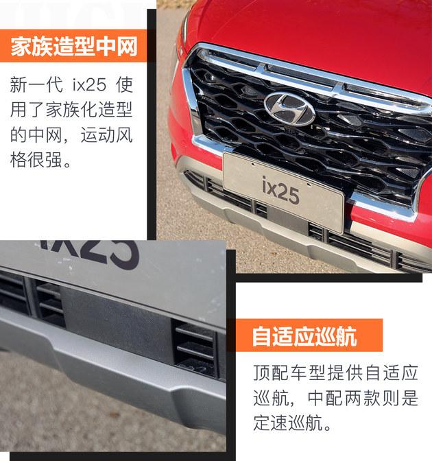 灵活的小胖子 北京现代新一代ix25试驾