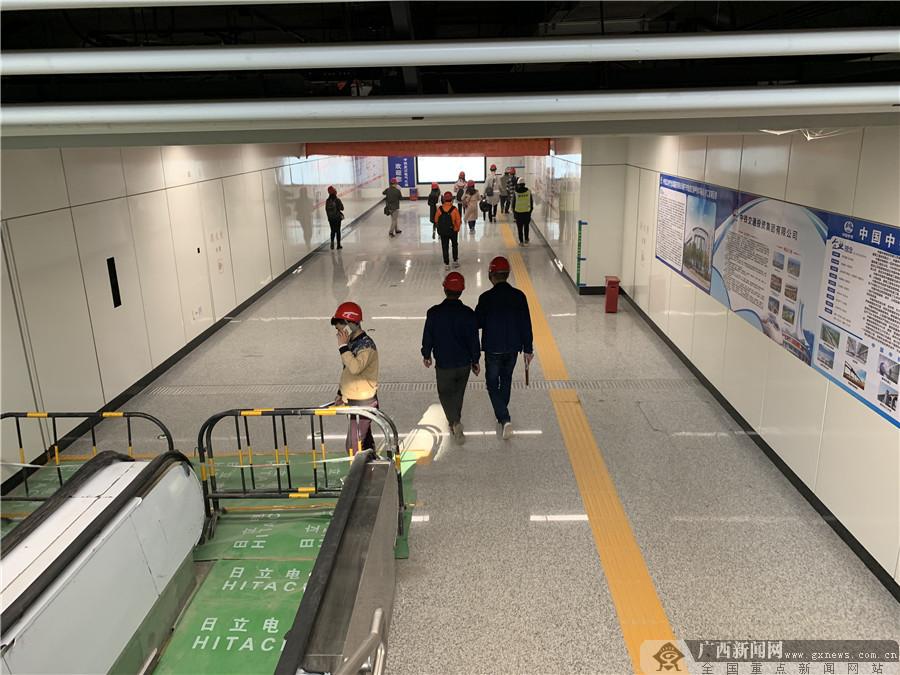 南宁地铁4号线站内装修曝光 预计明年年底开通