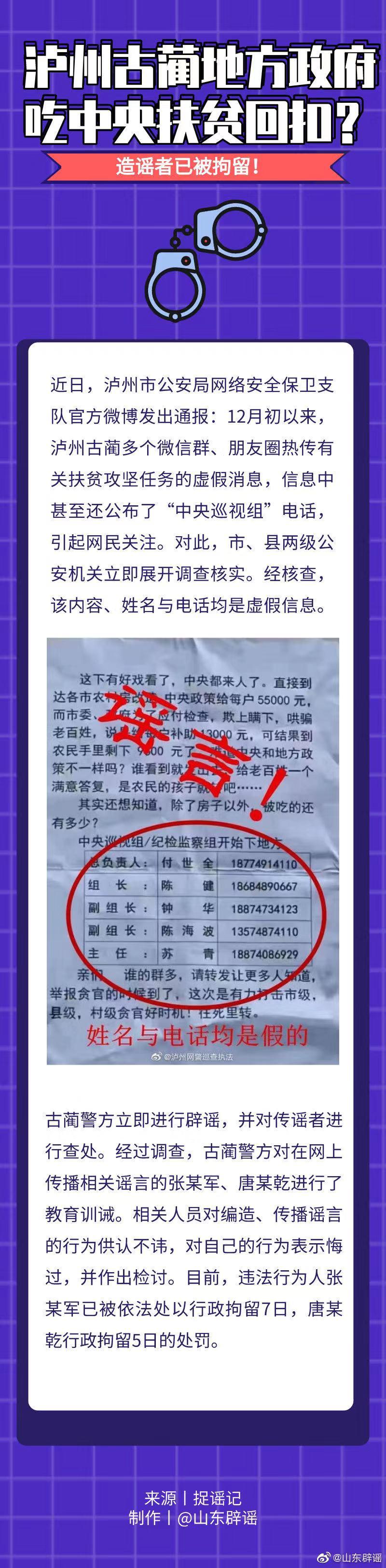 中通速递单号四川古蔺警方辟谣地方政府吃中央
