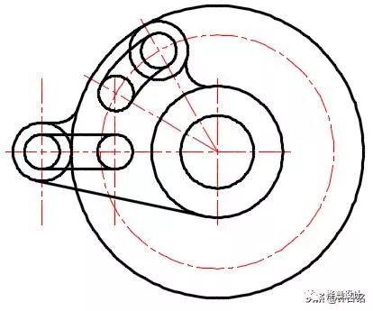 cad重复空间立面图
