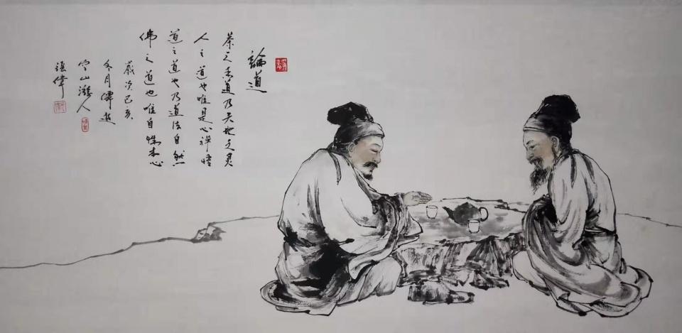 CCTV智慧中国栏目组探访仙游著名书画家--张望云