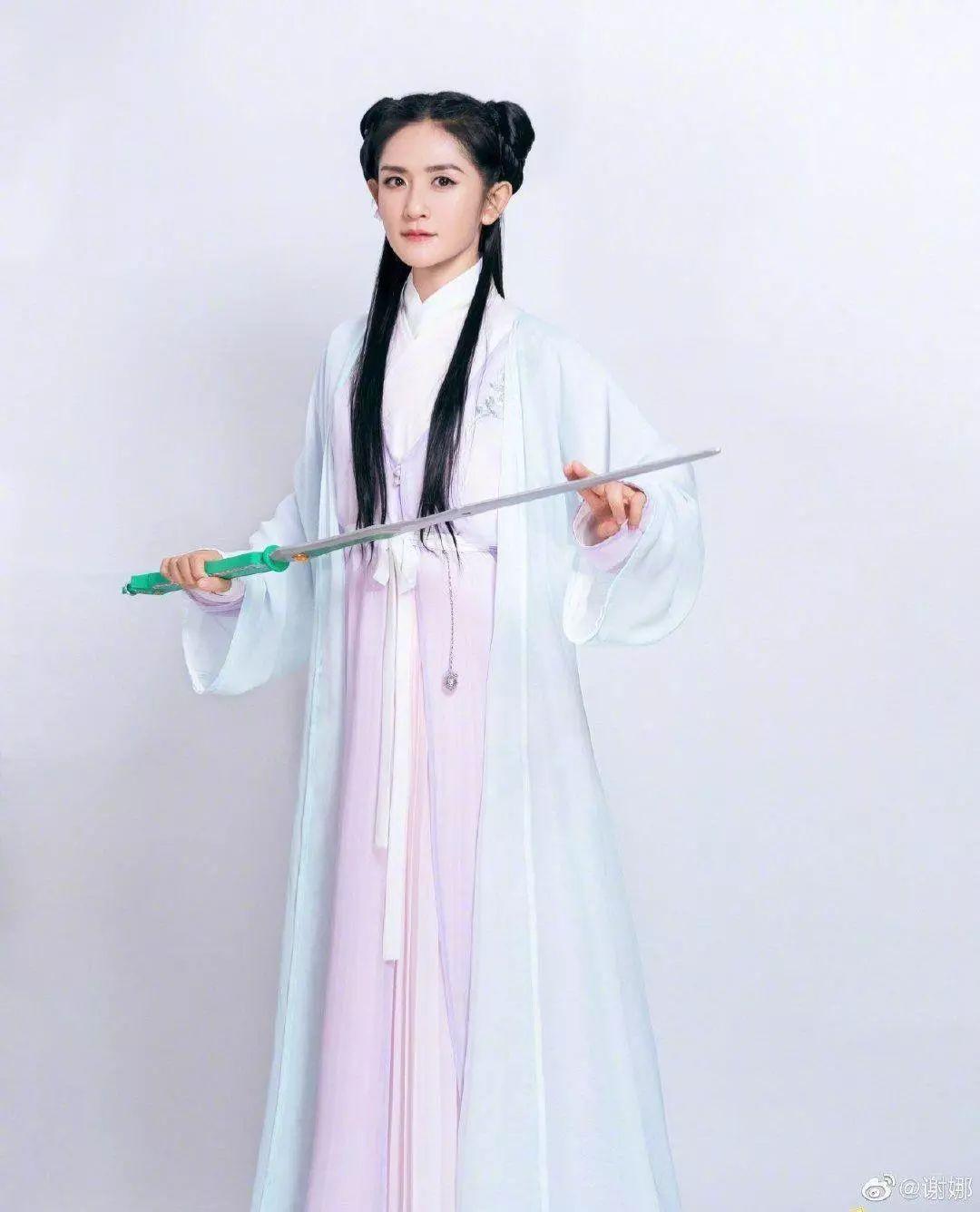 谢娜演《花千骨》续集定档今晚,超高还原赵丽颖,却遭网友吐槽