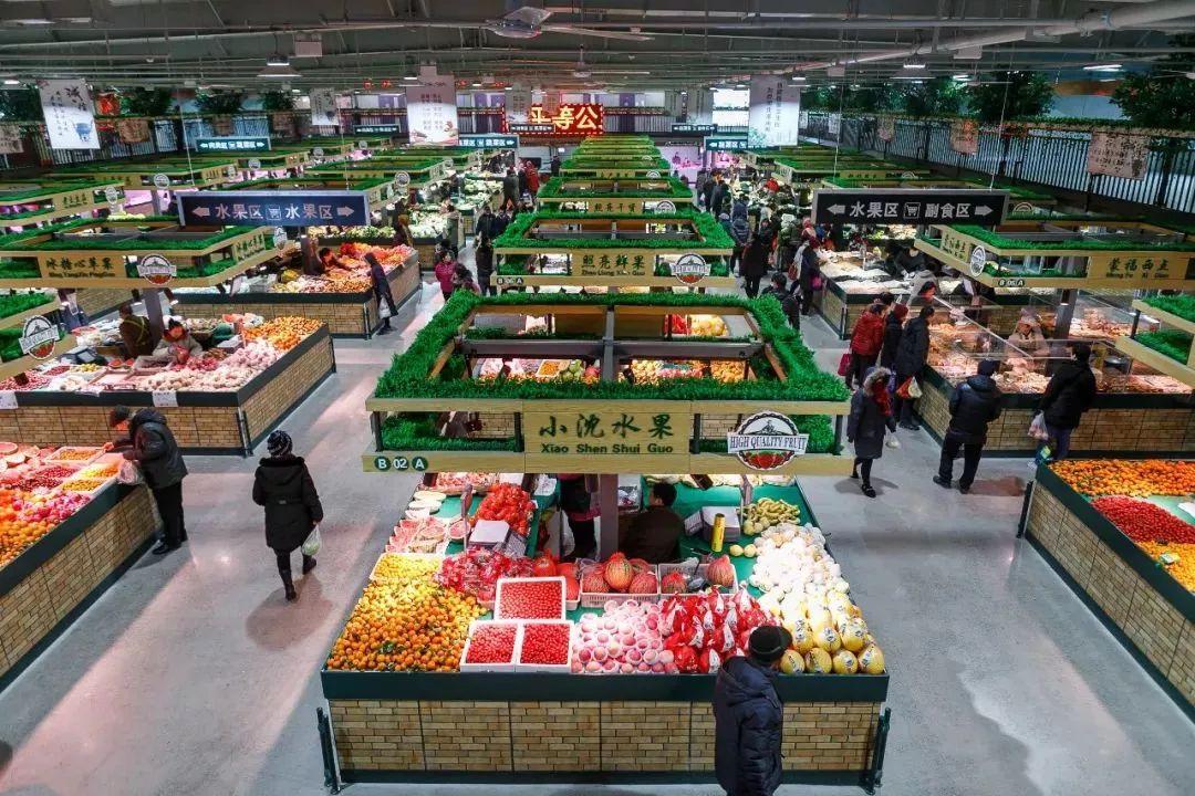 逛菜市场如逛超市!天津新建提升改造6家菜市场
