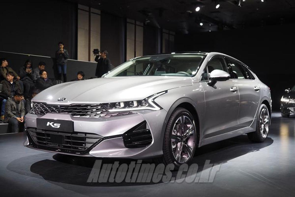 起亚全新一代K5韩国发布 或2020年国内上市