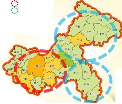 重庆主城gdp_重庆主城大扩容,1.8万亿GDP大都市区来了(3)