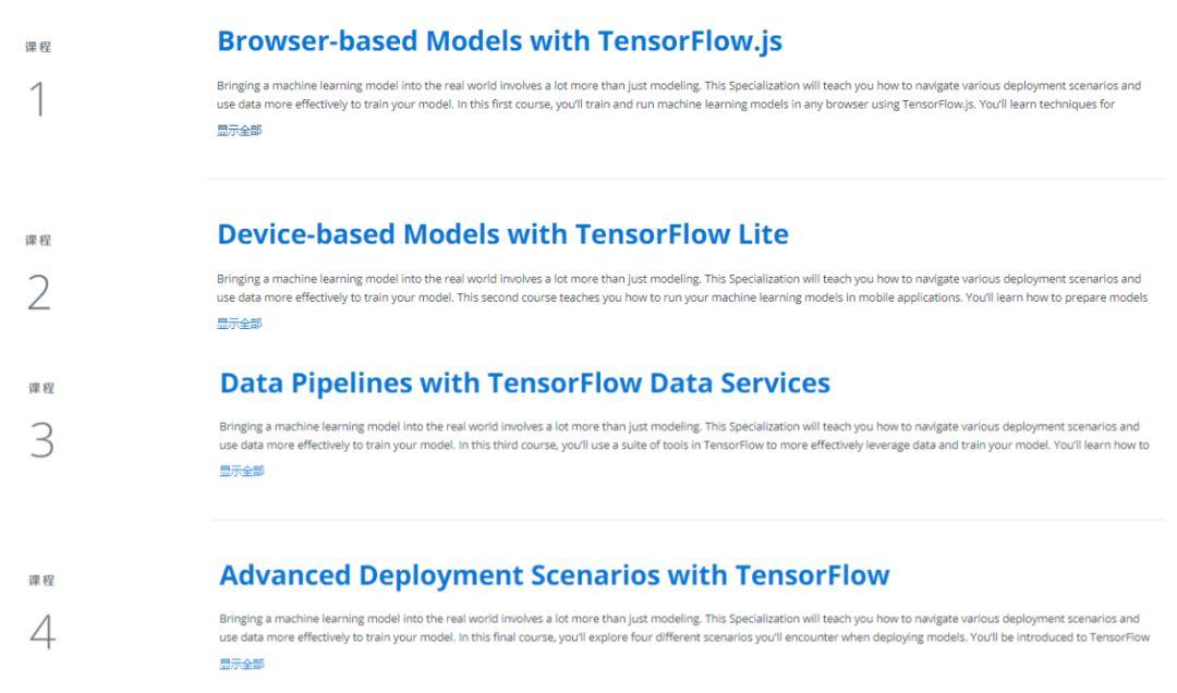 吴恩达deeplearning.ai新课上线:TensorFlow移动和web端机器学习