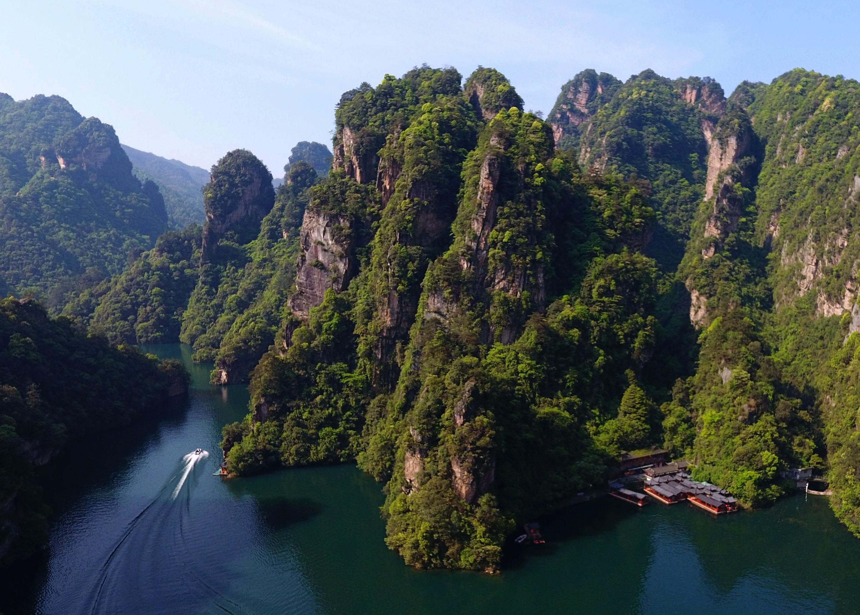 水上张家界,醉美宝峰湖 本月22日,武陵源两大体育赛事精彩上演
