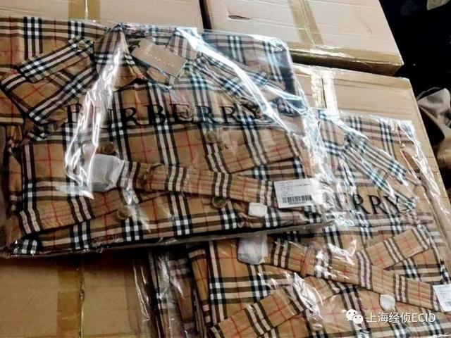 上海警方破获高仿巴宝莉案,涉案过亿!制售假团伙分布广东等三地