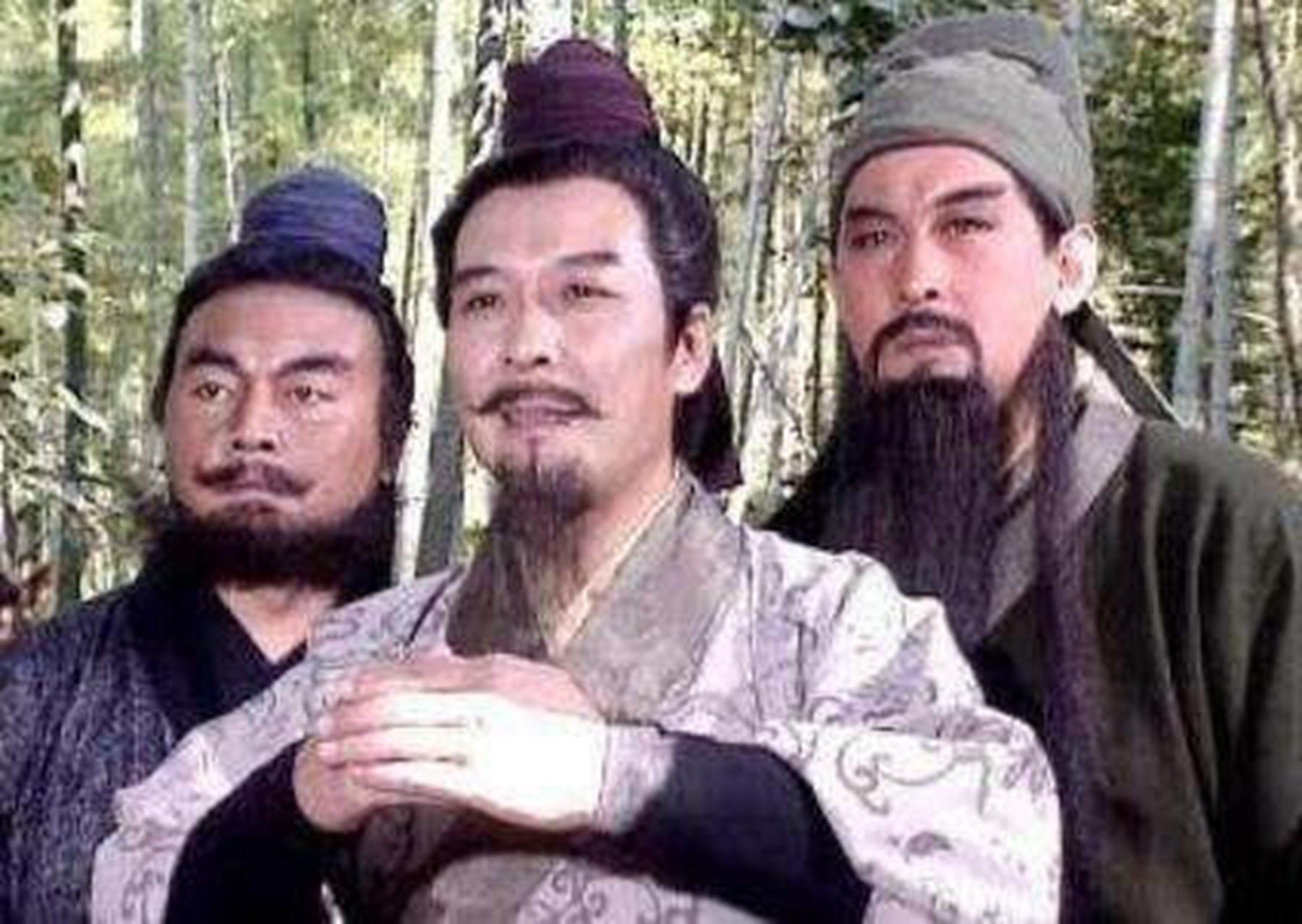 《三国演义》:刘备、关羽、张飞.图片