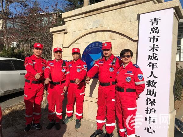<b>青岛斑马救援队冬日再出动 为福利院孩童送温暖</b>