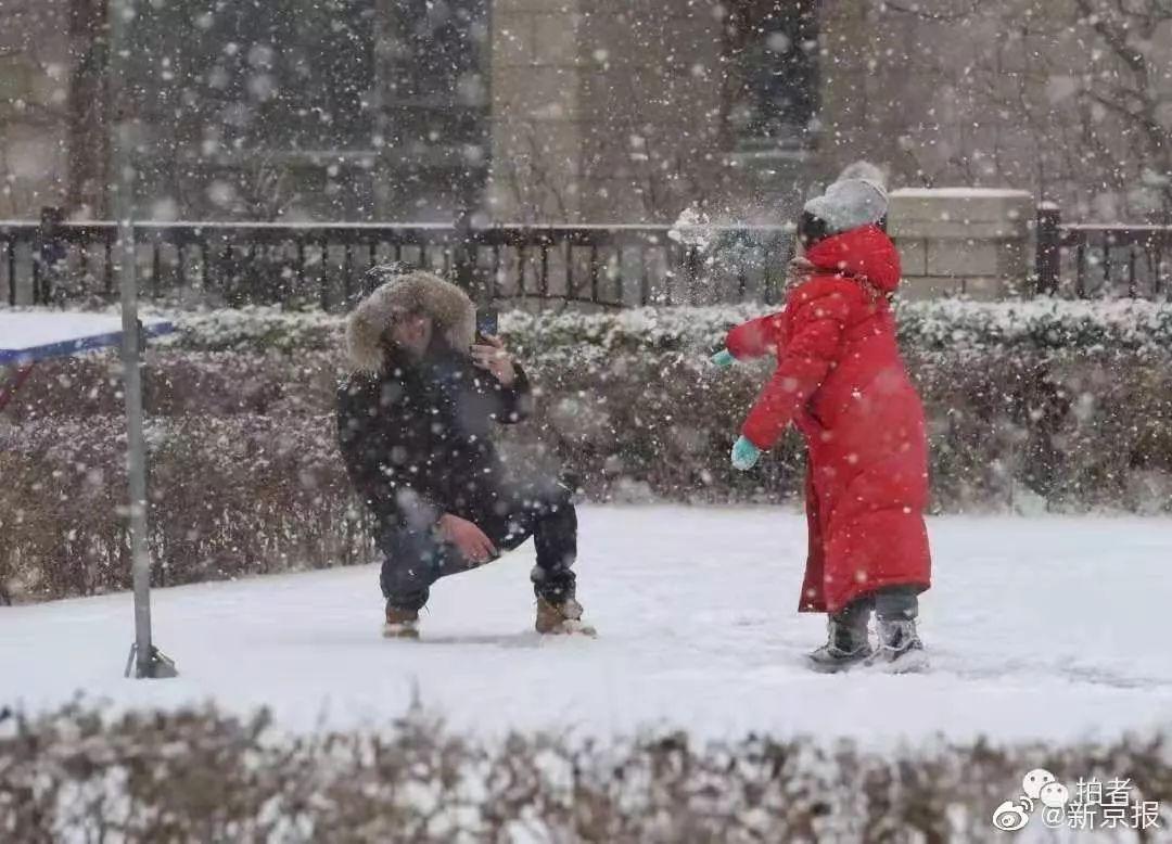 北京大雪来袭:来不及解释了,快跟我去看雪景! | 沸话