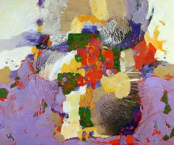 乌克兰画家科莱斯尼克·弗拉基米尔油画作品欣赏