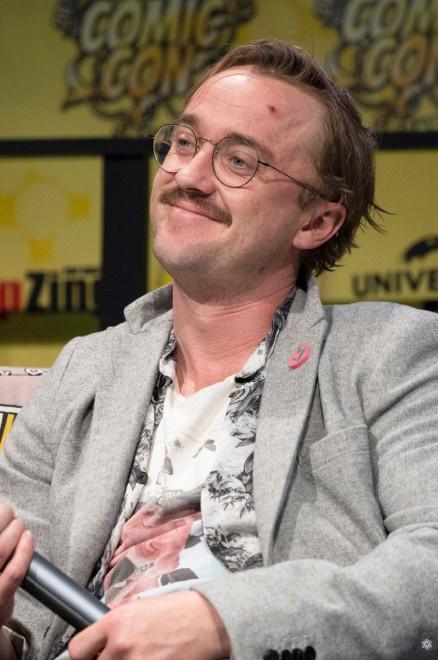 <b>什么摧残了马尔福?汤姆·费尔顿亮相多特蒙德漫展</b>