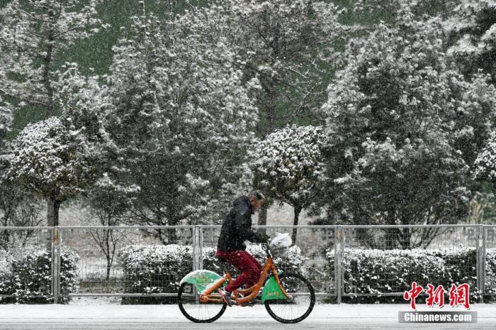 暴雪预警拉响!北方遇今冬以来最