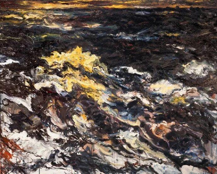 德国新表现主义画家贝恩德·齐默尔油画作品赏析