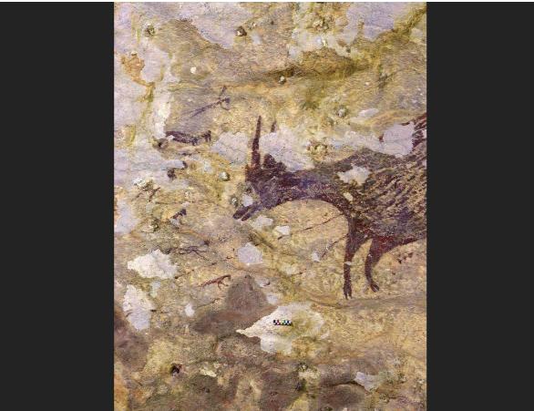 4万多年前的世界甚么样?印尼发明疑似最陈旧具象壁画