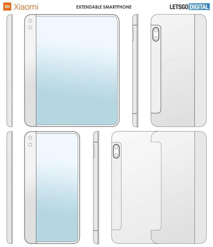 继折叠屏后又一新科技 小米新专利让显示面积轻松翻倍
