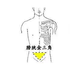 神奇的人体三角区,养好了,百病难扰!