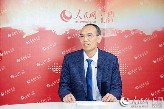 廣西壯族自治區林業科學研究院黨委書記尹國平接受人民網采訪