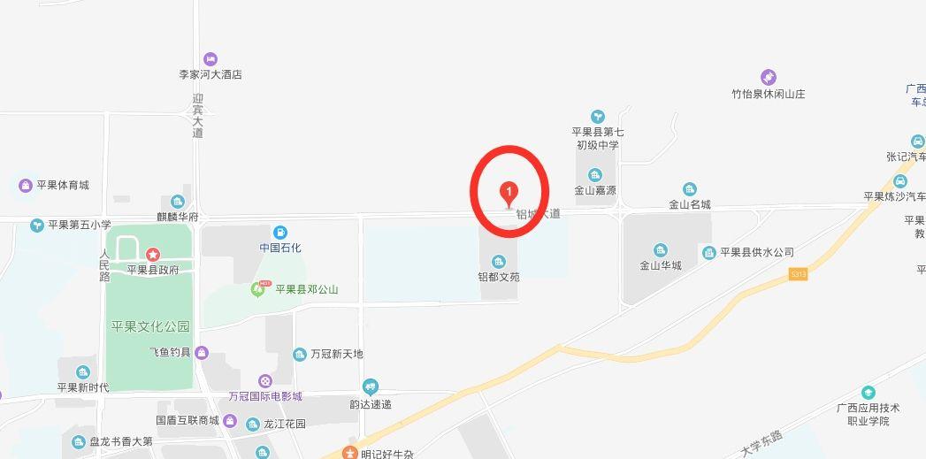 中国流动科技馆巡展来到平果了!