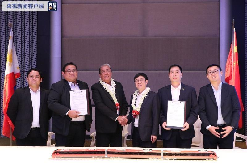 中國動車組首次出口菲律賓 助力菲律賓走入標準軌時代