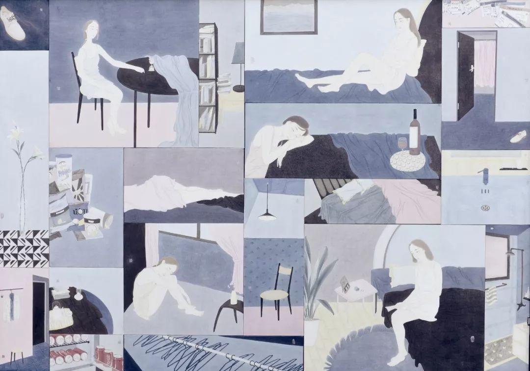 精微 广大 中国当代工笔画名家小幅精品展 在天津美术学院开幕