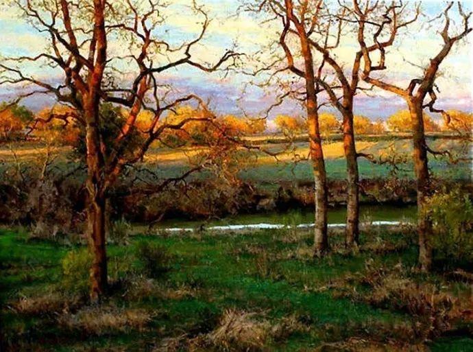 美国画家马克霍沃思的风景油画作品赏析